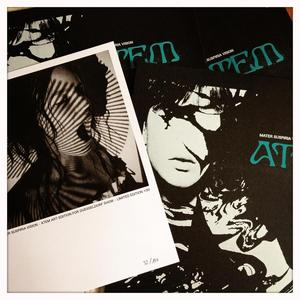 Image of [LIMITED 70] MATER SUSPIRIA VISION - ATEM LP [SILKSCREENED ART EDITION]