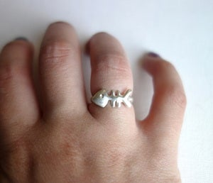 Image of Fish Bone Ring
