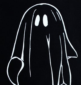 Image of SICK 'GHOST' Back Patch - Black&White