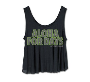 Image of Women's Aloha For Days Crop Tank