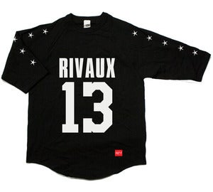 Image of RIVAUX - Black Raglan