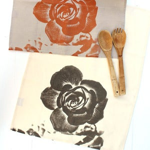 Image of Tea towel, rose