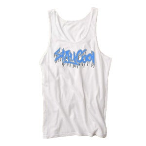 Image of StayCool Tank Aqua & White