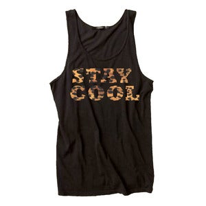 Image of StayCool Tank Leopard & Black