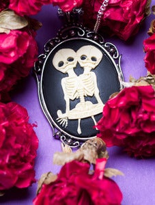 Image of Skeleton Twins Cameo Necklace