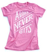 Image of NEVER QUITS WOMENS Tri-Blend