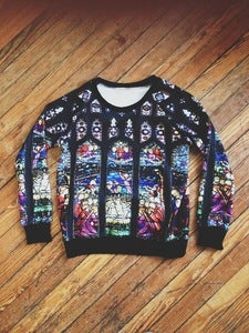 Image of Cathedral Print Sweatshirt