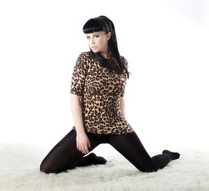 Image of 'Frankie' top in Leopard - PRESALE