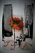 "Image of ""Daisy stops the Traffic"" - Original Canvas SOLD"