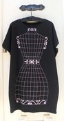 Image of Vintage T-dress - black