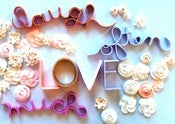 Image of Brides Kit - Laugh Often Love Much lettering
