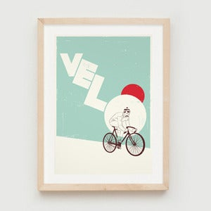 Image of 'Velo' print by John Coe