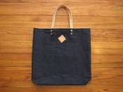 Image of selvedge denim tote