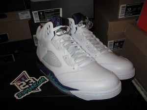 Image of Air Jordan V (5) Retro &quot;Grape&quot; 2013 