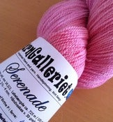 Image of NEW! Serenade, 100% merino lace yarn, color &quot;Alcea&quot;