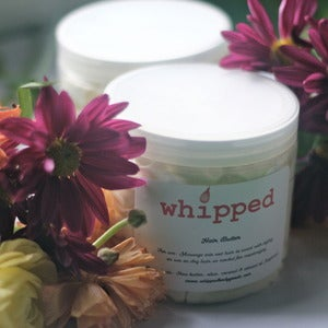 Image of whipped hair butter