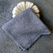 Image of organic cotton face towel