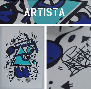 Image of ARTISTA A3 Screen Print