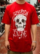 Image of Bizzy Bone Skull Tee Red