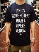Image of Vipers Venom Shirt Navy/Grey