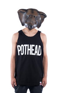 Image of Pothead Tank - Black