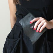 Image of Charcoal Gray Eco Wallet