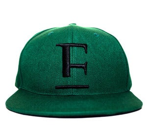 Image of E Logo Strap Back Forest Green