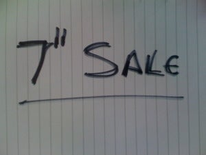 "Image of 7"" SALE ITEMS - From £0.50 Each!!"