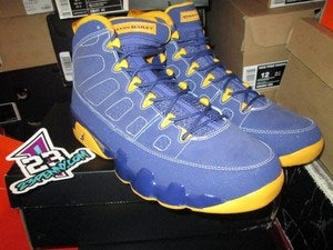 Image of Air Jordan IX (9) Retro &quot;Calvin Bailey&quot; 