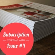 Image of Subscription // 4 Issues