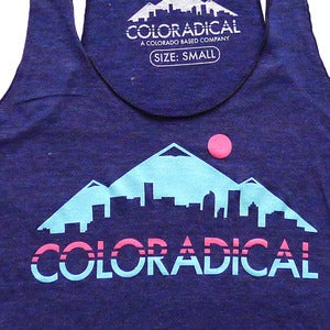 Image of Coloradical Skyline - Women's Tank Top