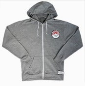 Image of Violent Mountain Tribe crest Zip Up Hoody