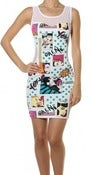 Image of Comic book dress