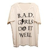 Image of NEW! B.A.D. Girls Do It Well Oversized Tee