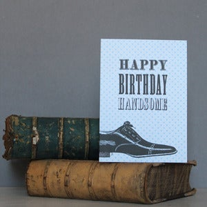 Image of 'Happy Birthday Handsome' Card