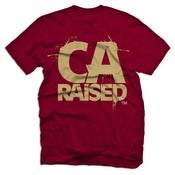 Image of California Raised - Maroon &amp; Tan