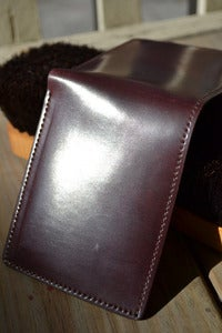 Image of Johnny the Fox - Shell Cordovan Bifold Wallet
