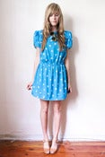 Image of little miss blue dress