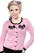 Image of Sourpuss Hey Kitten Cardigan