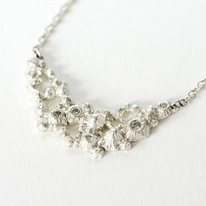 Image of Diamond Barnacle Necklace
