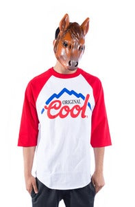 Image of Original Cool Raglan - Red
