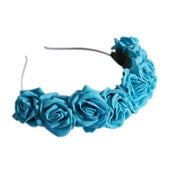 Image of Lotta Rosie Headband - Turquoise