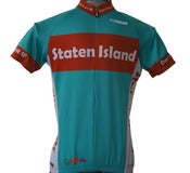 Image of Staten Island Cycling Jersey - A Peace, Love & Pedals cycling jersey classic for men and women!