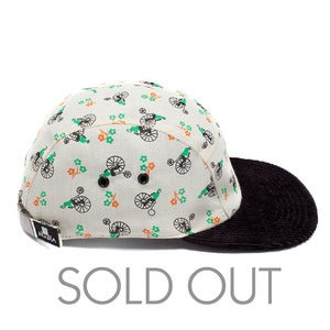Image of MOUPIA Penny Farthing/Cord. 5 Panel hat