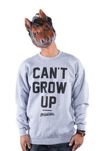 Image of Can't Grow Up Crew - Grey