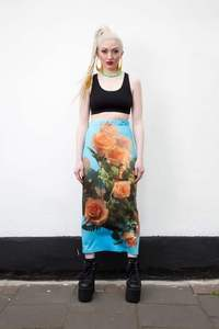 Image of WATER&amp;ROSES SKIRT