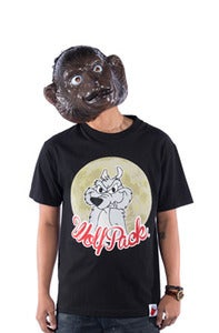 Image of Wolf Pack Tee Black