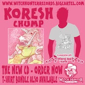 Image of Koresh - Chump CD and T-Shirt bundle