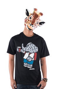 Image of Party Elephante Tee - Black