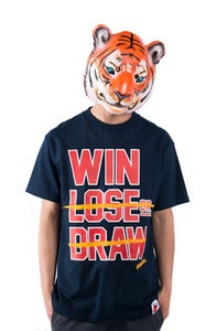 Image of Win Lose Draw Tee - Navy